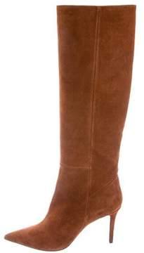Barbara Bui Suede Knee-High Boots