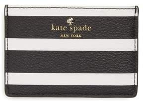 Kate Spade Hyde Lane Stripe Card Case