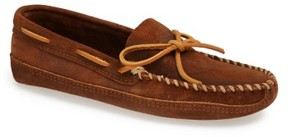 Minnetonka Men's Suede Sole Moccasin