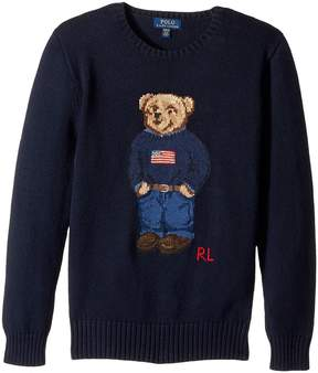 Polo Ralph Lauren Polo Bear Cotton Sweater Boy's Sweater