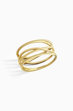 BaubleBar Women's Ivy Everyday Fine Stack Ring