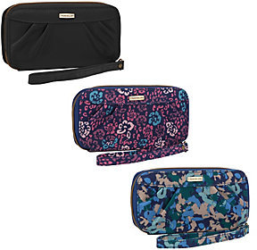 Travelon Set of 3 RFID Wallets with Gift Boxes