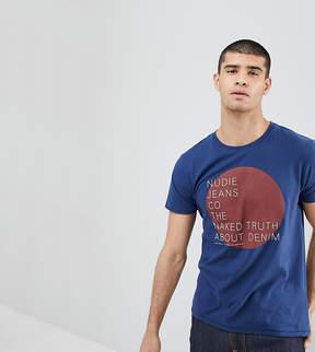 Nudie Jeans Anders Naked Logo T-Shirt