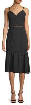 ABS by Allen Schwartz Fitted Spaghetti-Strap Sheath Dress