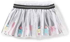 Baby Starters Baby Girls 3-12 Months Kitty Striped Tutu Skirt