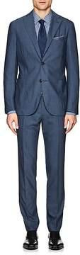 Boglioli Men's K2 Wool Hopsack Two-Button Suit