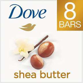 Dove Purely Pampering Shea Butter with Warm Vanilla Beauty Bar 4 oz, 8 Bar
