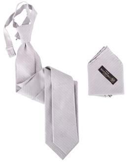 Corneliani Men's Grey Silk Tie.