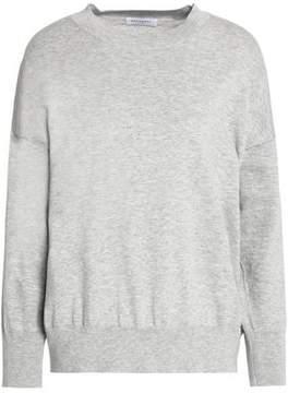 Equipment Mélange Cotton And Cashmere-Blend Sweater