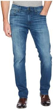 Mavi Jeans Zach Regular Rise Straight Leg in Mid Tonal Williamsburg Men's Jeans