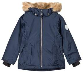 Ticket to Heaven Total Eclipse Blue Maren Jacket With Detachable Hood