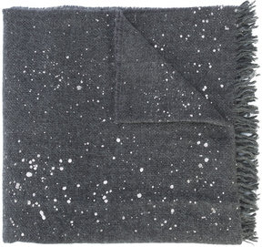 Fabiana Filippi paint splatter scarf