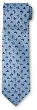 Merona Men's Palm Trees With Light Ground Necktie Blue
