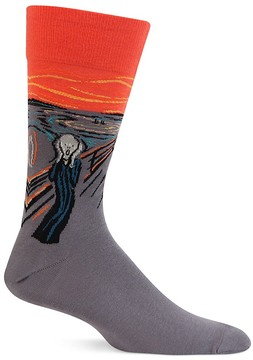 Hot Sox The Scream Socks