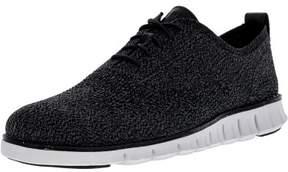 Cole Haan Men's Zerogrand Stitchlite Oxford Multi / Black Magnet White Ankle-High Fabric Shoe - 11M