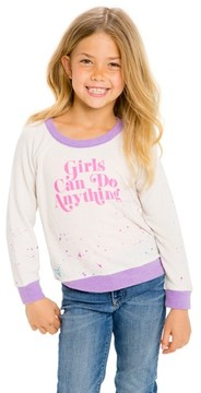 Chaser Toddler Girl's Go Girls Sweatshirt