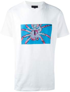 Lanvin exposed spider print T-shirt