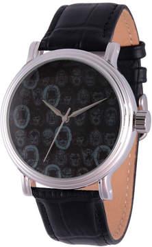 Marvel Comics Mens Black Strap Watch-Wma000050