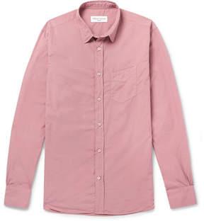 Officine Generale Garment-Dyed Cotton Shirt