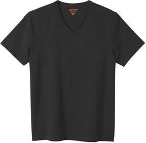 Joe Fresh Men's Essential V-Neck Tee, Black (Size XL)