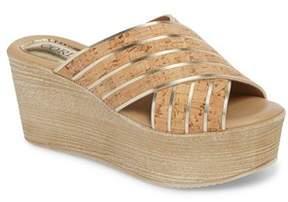 Cordani Jacey Platform Wedge Slide Sandal