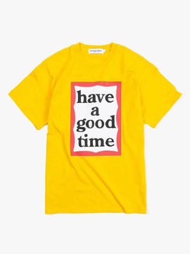 Have A Good Time Big Frame S/S Tee - Mustard