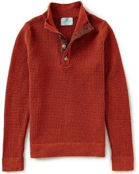 Class Club Little Boys 2T-7 Mock-Neck Textured Sweater
