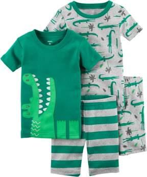 Carter's Toddler Boys 4-pc. Gator Pajama Set