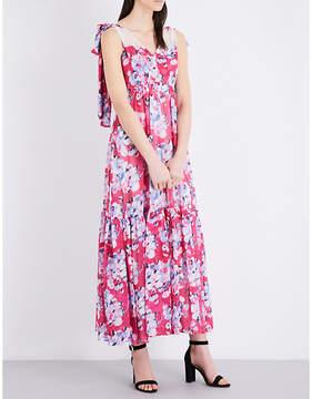 Claudie Pierlot Rosace chiffon maxi dress