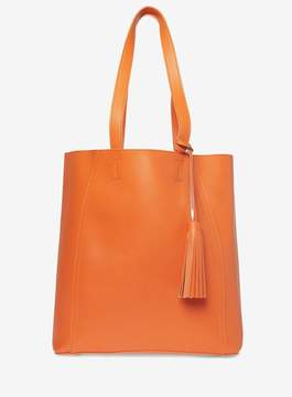 Dorothy Perkins Orange Tassel Shopper Bag