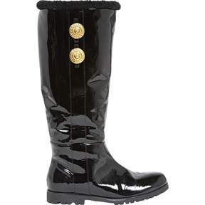 Versace Patent leather boots