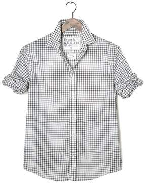 Frank And Eileen Mens Paul Italian Poplin Grid Check Shirt