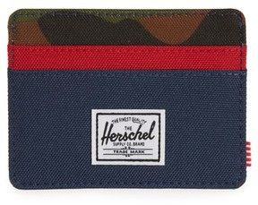 Herschel Men's Charlie Rfid Card Case - Green