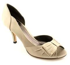 Isola Womens Dolce Leather Peep Toe D-orsay Pumps.