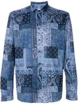 Etro printed design shirt