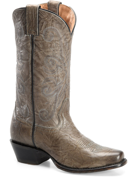 Sonora Gray Maya Leather Cowboy Boot
