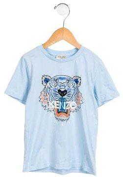 Kenzo Boys' Logo Graphic Shirt