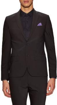 Kenneth Cole Men's Solid Notch Lapel Sportcoat