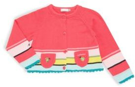 Catimini Baby's Embroidered Knit Cardigan
