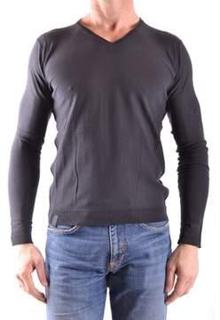Fred Mello Men's Grey Cotton Sweater.