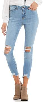 Noisy May Lucy Destructed Ankle Skinny Jeans
