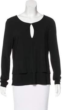 Strenesse Knit Long Sleeve Top