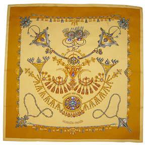 One Kings Lane Vintage HermAs Les Parures des Sables Scarf - The Emporium Ltd.