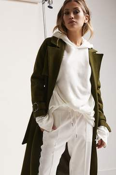 Forever 21 Goldie London Belted Trench Coat