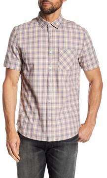 Jeremiah Solana Herringbone Plaid Shirt
