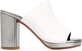 Robert Clergerie platform mule sandals