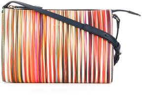 Paul Smith stripe pattern cross body bag