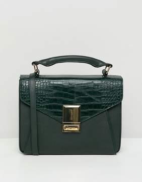 Asos DESIGN slip pocket satchel