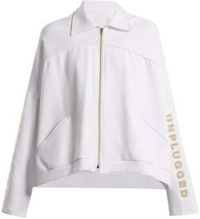 Charli COHEN Unplugged scuba-jersey performance jacket
