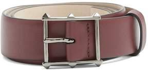 Valentino Rockstud-buckle leather belt